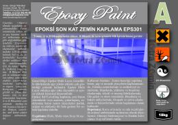 Epoksi Paint EPS300 - Epoksi Zemin Kaplama