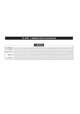 10.sınıf cevap anahtarı