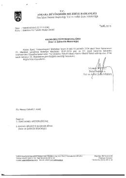 ankara büyükşehir belediye başkanlığı