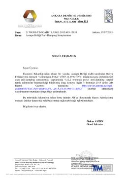 Avrupa Birliği/Anti-Damping Soruşturması