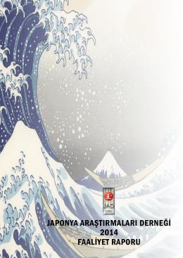 japonya araştırmaları derneği 2014 faaliyet raporu