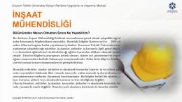 İNŞAAT MÜHENDİSLİĞİ - Erzurum Teknik Üniversitesi
