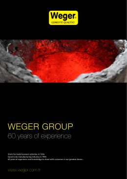 WEGER GROUP