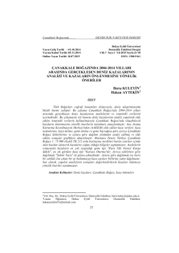 PDF - Dokuz Eylül Üniversitesi