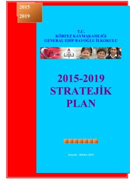 Stratejik Planımız2015-2019 Yılları