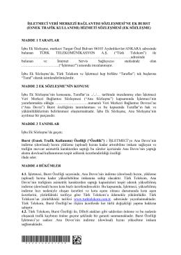 esnek trafik kullanımı - Türk Telekom Kurumsal