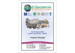 IZLE - 6. Geoteknik Sempozyumu