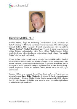 Hartmut Müller, PhD