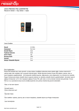 PDF Broşür / Yazdır