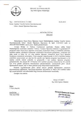 yazı için tıklayınız - Ergani İlçe Milli Eğitim Müdürlüğü