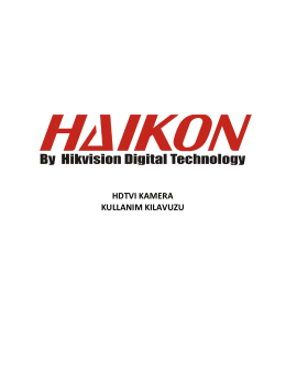 HAIKON 720p ve 1080p HD TVI Kamera