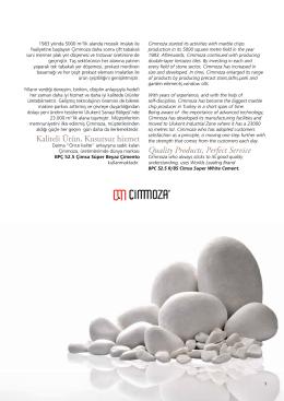Kaliteli Ürün, Kusursuz hizmet Quality Products, Perfect Service