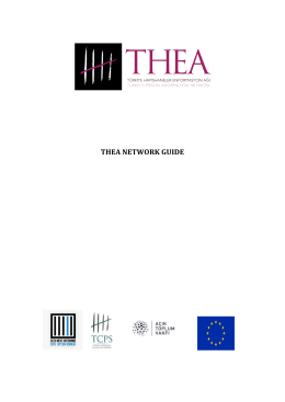 THEA NETWORK GUIDE