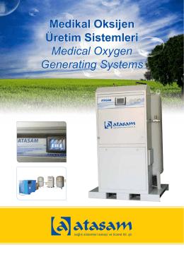 Medikal Oksijen Üretim Sistemleri Medical Oxygen Generating