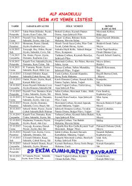 alp anaokulu ekim ayı yemek listesi