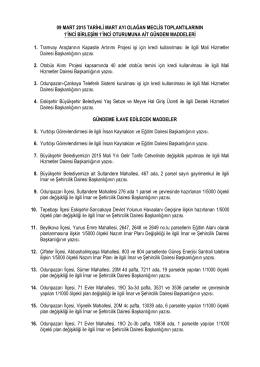 09.03.2015 - Eskişehir Büyükşehir Belediyesi