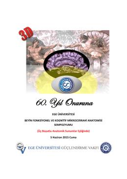 Beyin Fonksiyonel ve Kognitif Mikrocerrahi Anatomisi Sempozyumu