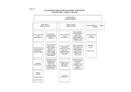 Muhasebe Müdürlüğü Fonksiyonel Teşkilat Şeması