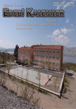 edebi kalemler 8 nisan-2015 - İzollu Çok Programlı Anadolu Lisesi