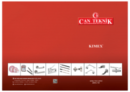 kataloğu görüntüle - Can Teknik Ahşap Hırdavat Ltd.Şti