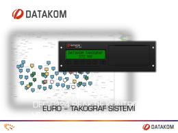 EURO - Takograf Sistemi Sunum
