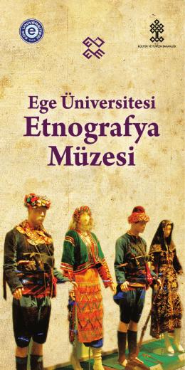 Müze Broşürleri (Etnografya Müzesi)