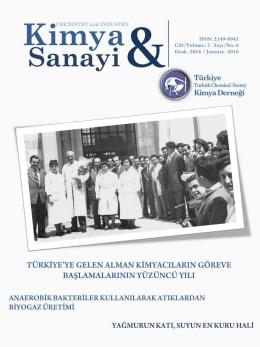 Sanayi - Türkiye Kimya Derneği