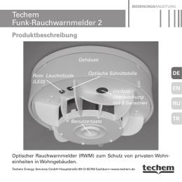 Techem Funk-Rauchwarnmelder 2