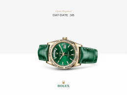 Rolex Day-Date 36 Saati : 18 kt sarı altın