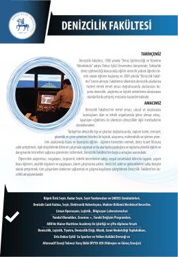 Tanıtım Broşürü ve Kariyer Alanları - DEÜ Tercih Rehberi