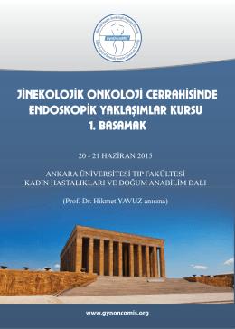 jinekolojik onkoloji cerrahisinde endoskopik yaklaşımlar kursu 1