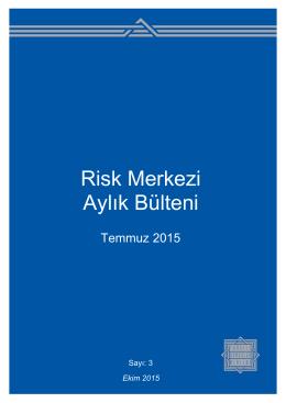 Temmuz 2015 - TBB RİSK MERKEZİ
