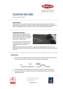 DUAYEN MS-800