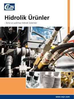 Hidrolik Ürünler