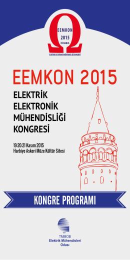 elektrik elektronik mühendisliği kongresi