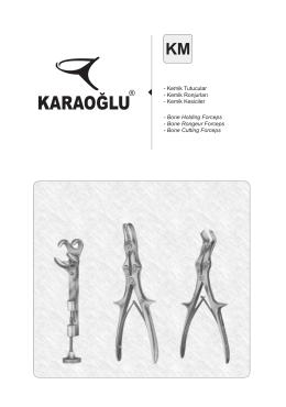 KM - Karaoğlu Cerrahi Aletler