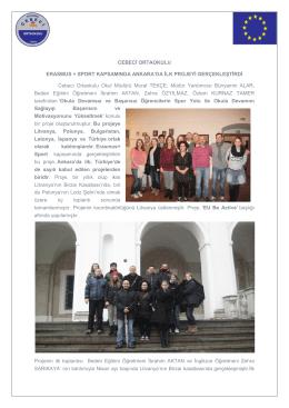 CEBECİ ORTAOKULU ERASMUS + SPORT