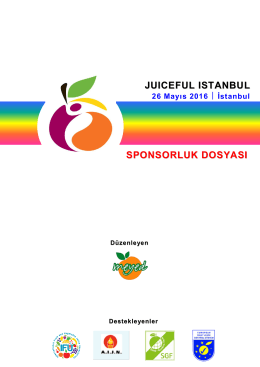 6th Juiceful Istanbul Summit