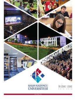 İncele - Hasan Kalyoncu Üniversitesi