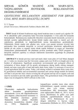Title of paper - Şırnak Üniversitesi