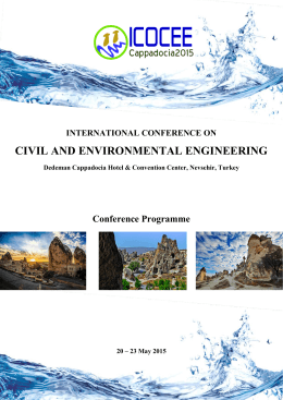 civil and environmental engineering - ICOCEE
