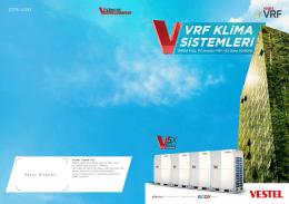 0715-V5X1 - Vestel VRF Klima Sistemleri
