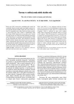 Travma ve Nitrik Oksit