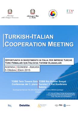 agenda - Invest in Italy