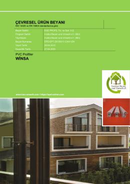 PVC Profiles_WINSA_TR