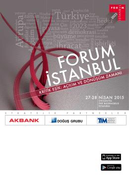 buradan - Forum İstanbul