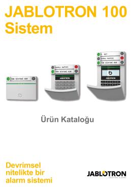 Jablotron Ja-100 - Bilgi Elektronik