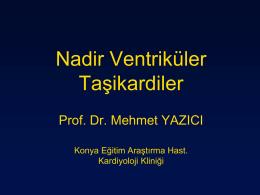 Mehmet Yazıcı - 5. Atriyal Fibrilasyon Zirvesi