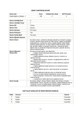 Halkla İlişkiler ve İletişim - Jandarma Astsubay Meslek Yüksek Okulu