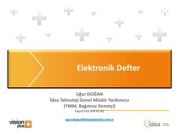 e-DEFTER - Van SMMMO